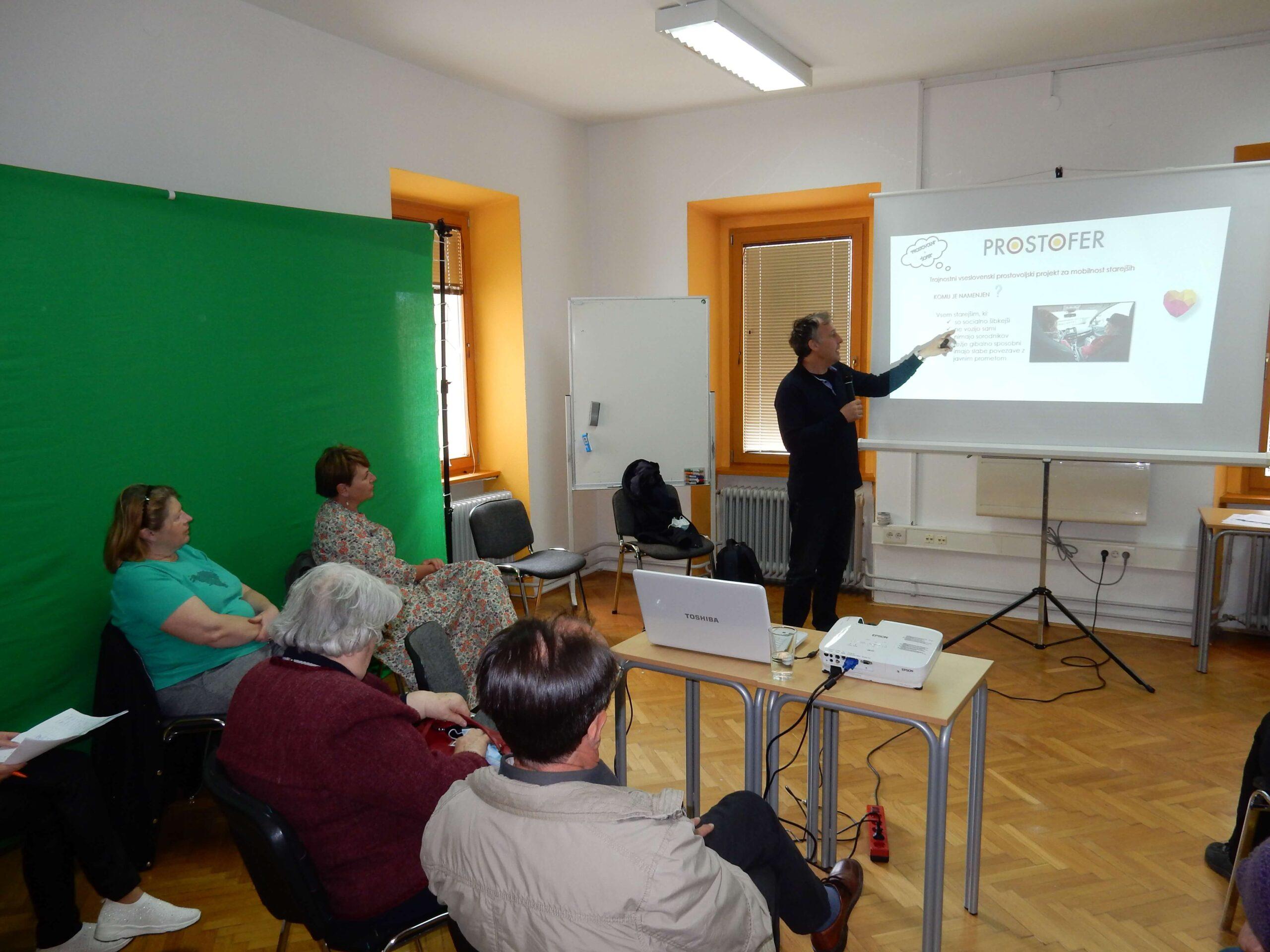 Predavanje in delavnice v Novem mestu